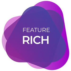 Feature Rich Web Design