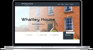 Whatley House Bed & Breakfast Website Design